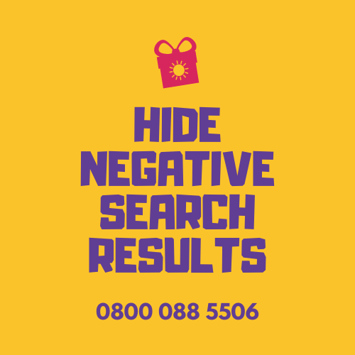 HIDE NEGATIVE SEARCH RESULTS