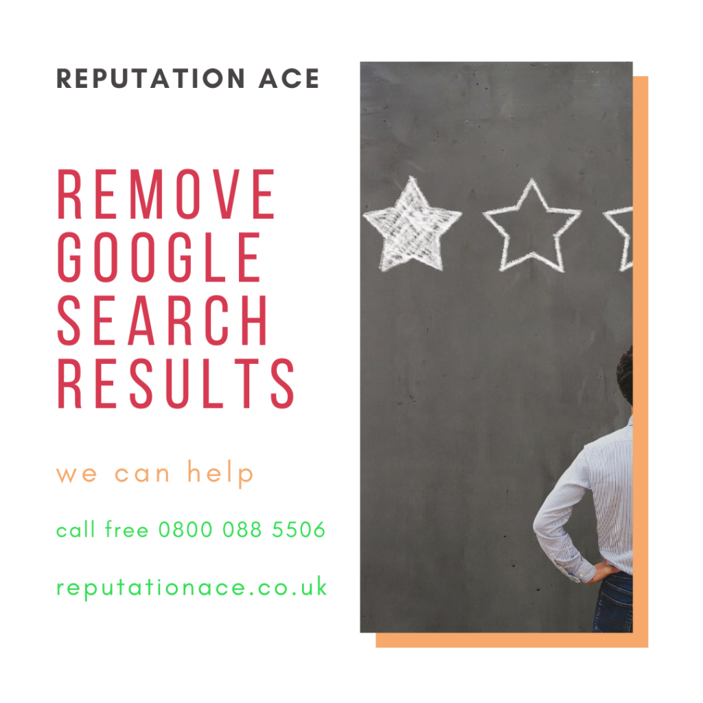 delete google search results, reputation management from reputation ace