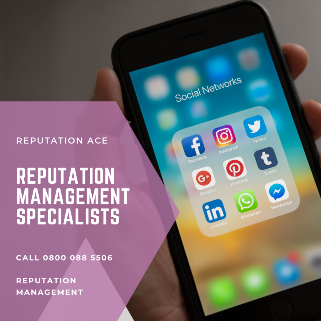reputation management specialists in the uk Reputation Ace LTD Call 0800 088 5506